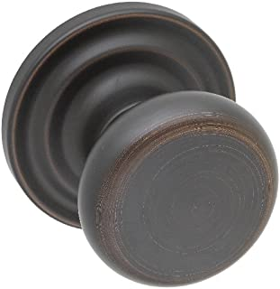 Copper Creek HK4090TB Heritage Dummy Door Knob, Tuscan Bronze