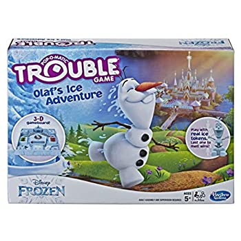 Trouble Game Olaf s Ice Adventure