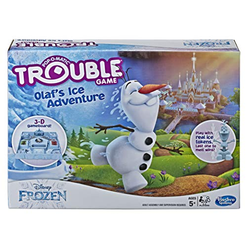 Trouble Game Olaf's Ice Adventure