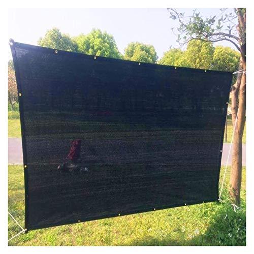 LSSB Mallas De Sombreo Jardin HDPE Temperatura De Caída Solar Sombra Paño para Exterior Flores Tejado Estacionamiento Alberca, Personalizable (Color : Black, Size : 3x4m)