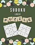 SUDOKU LOGIC PUZZLE: 2020 Large Format Printing And Big Book Of Funster Brain Game - A Classic Variety Math Crossword Puzzles With 4 Levels From Easy, ... Fun For A Gammer Activities Or Hobbies Lovers