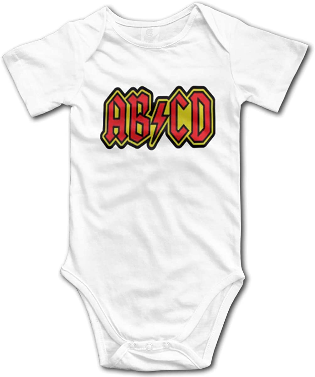 ABCD Alphabet Rock Limited time sale And Roll Cute Funny One Comfy cheap Piece Sle Short