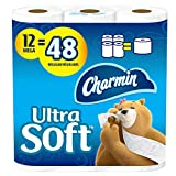 Charmin Papier toilette ultra doux 12 rouleaux de papier hygiénique = 48 rouleaux ordinaires