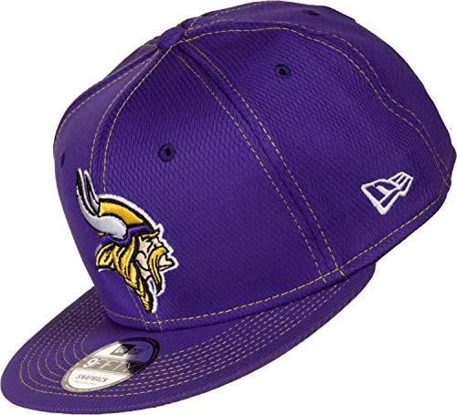 New Era Herren 9Fifty Minnesota Vikings Kappe, Purple, M/L