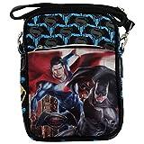 Dc Comics Batman Vs Superman Dawn Sac porté Main Sac à l'épaule Ecole Bandouliere...