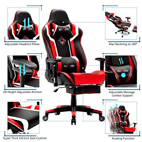 Ficmax Gaming Stuhl  Massage Bild 5*