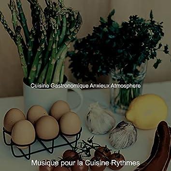 Cuisine Gastronomique Anxieux Atmosphere