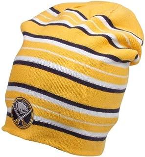 Reebok Buffalo Sabres Long Reversible Knit Hat - Adult OSFM KE59Z