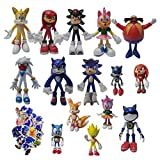 XIANGA Figura Grande de Sonic Juguete sónico Figuras sónicas Juguete Sonic The Hedgehog muñeca Sonic...