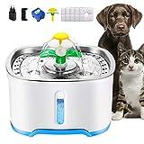 Wilktop - Set di 8 filtri al carbone attivo per gatti, per bere acqua, fontana e fiore, per cani e gatti, 8 pezzi