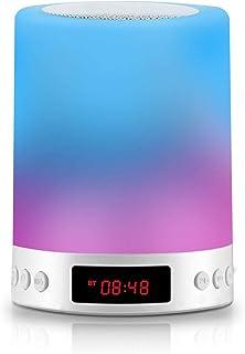 ベッドサイドランプ Smalody ナイトライトled ベッドランプ 調光調色 Bluetooth 5.0 ワイヤレススピーカー機能 ベッドライト目覚まし時計 USB充電間接照明おしゃれ タッチランプ 日本語説明書&12ヶ月品質保証付き