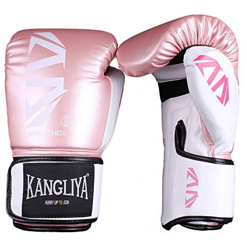FitTrek Boxhandschuhe - Muay Thai, Boxsack, Kickboxen, Sparring, Sandsack, Fitnesstraining, Kampfsport Handschuhe - Punching Mitts Boxing Gloves für Männer Herren und Frauen Damen Kinder