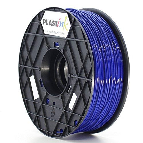 Plastink PLA175BL1 Filamento per Stampante 3D in PLA, Diametro 1.75 mm, Blu