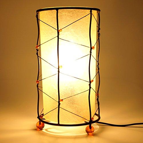 Guru-Shop Lámpara de Mesa Kokopelli - Lámpara de Mesa Jewel, 28x16x16 cm, Lámparas de Mesa Asiáticas
