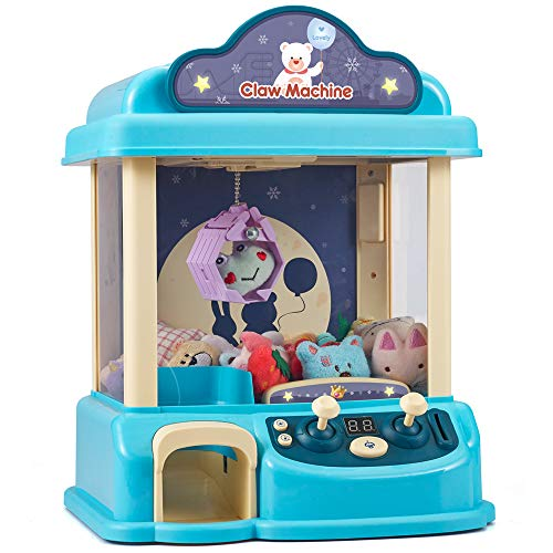 CISAY Claw Machine,C3 New Upgrade Claw Toy,Manual Mini Claw Machine, Intelligent System with Music and Lighting, Giving Children The Best Gift