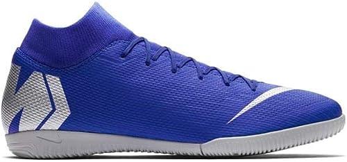 Nike Superflyx 6 Academy Ic - racer Blau metallic Silber-bla, Größe 8
