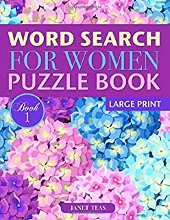 Word Search for Women Puzzle Book (Large Print): Book 1