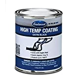 Eastwood Satin Black High Temperature Resistant Paint Pint Aerosol