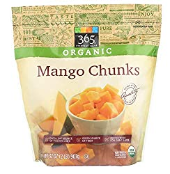 365 Everyday Value, Organic Mango Chunks, 32 oz, (Frozen)