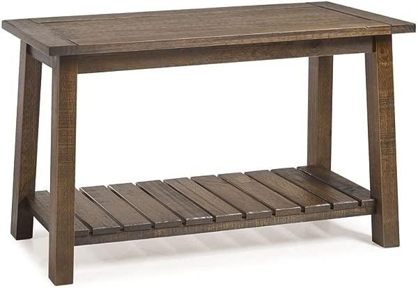 Seabrook Console Table Rustic Oak