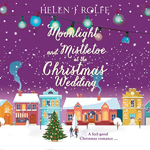 Moonlight and Mistletoe at the Christmas Wedding  By  cover art