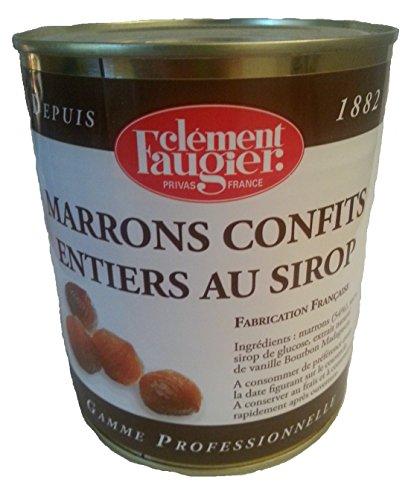 Clément Faugier - Marrons confits entiers au sirop - 1,1Kg