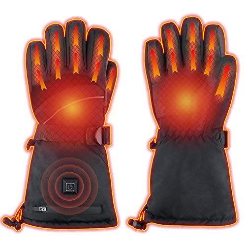 Best Design: PLYFUNS Heated Gloves for Winter