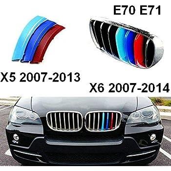 BizTech /® Parrillas de coche Inserciones Rayas decoraci/ón para BMW Z4 2009-2016 E89 9 rejillas M Power M Sport Tech