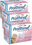 ProRhinel Lot de 3 x 20 Embouts Jetables Souples pour Mouche...