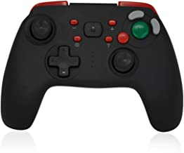 CHASDI GC Switch Wireless Pro Controller with Gamecube Button Layout Compatible with Nintendo Switch Console (Red)