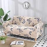 WXQY Funda de sofá elástica de algodón elástico Todo Incluido Funda de sofá de Esquina Funda de Muebles de Sala Funda de sofá Silla Funda de sofá Toalla A3 3 plazas