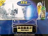 vielesguenstig-2013 Straßenbahn-Modell - Einsiedler Brauerei Nr. 2 - 1. elektrische Bahn Anno 1897 -