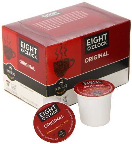Green Mountain Coffee Roasters Gourmet Single Cup Coffee Original Eight O'Clock 12 KCups (a)