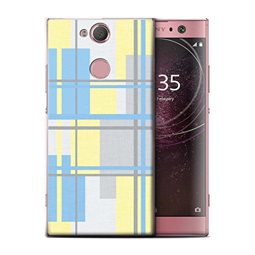 Stuff4 Phone Case/Cover/Skin/SXP-CC/Yellow Fashion Collection Sony Xperia L2 textiel.