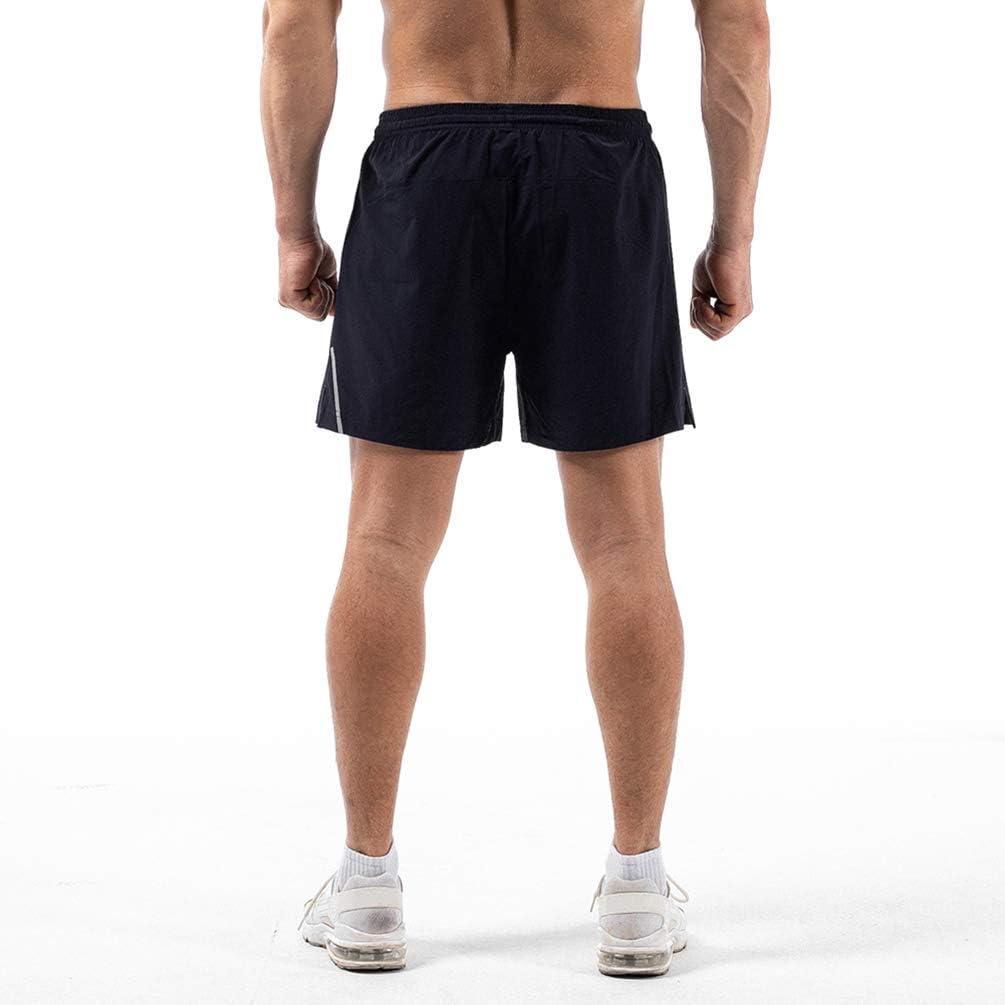 ZZEWINTRAVELER Sport Mens Running Shorts Beach Shorts Workout Athletic Outdoor Shorts