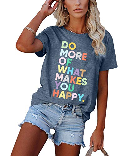 (40% OFF) Do More of What Makes You Happy T Shirt $11.99 – Coupon Code