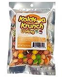 Kalakoa Krunch Freeze Dried Fruit Candy in Li Hing Mui Powder, Aloha Edibles 3oz.