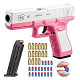 Upwsma Soft Bullet Toy Gun, a Safe Soft Bullet That Will Not Harm The Human Body, Simulates Real Manual Loading, and is a Cool Toy That Exercises Children's Physical Coordination