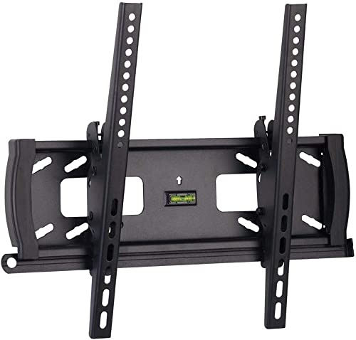 Monoprice Tilt TV Wall Mount Bracket - for TVs 32in to 55in Max Weight 99lbs VESA Patterns Up to 400x400 Security Bra...