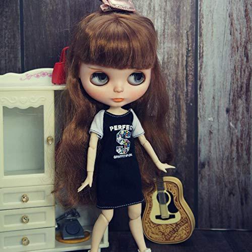 leoglint Blythe Doll Clothing Dress Clothes for Blythe Doll 1/6 30 cm Bjd Dolls Azone ICY Licca Doll