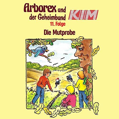 Die Mutprobe audiobook cover art