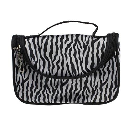 LHWY Donna cosmetici borsa da toilette Zebra viaggio borsa