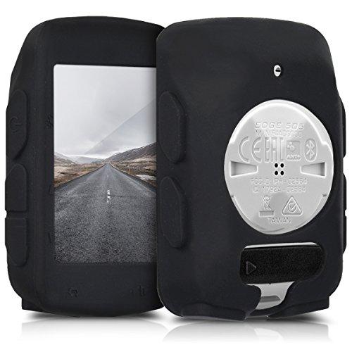 kwmobile Funda Compatible con Garmin Edge 520 - Carcasa de Silicona para GPS - Cover en Negro