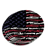 American Gun Flag USA Second 2nd Amendment Novelty Coaster Set