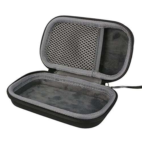 co2CREA Carrying Travel Storage Orgnizer Case Bag for Korg TM50BK Instrument Tuner Metronome Recorder fits Clip-On Microphone and Seiko/KLIQ/Matrix