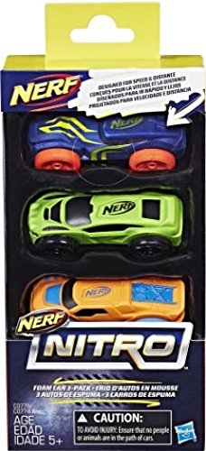 NERF C0775ES1 Nitro Espuma Coche