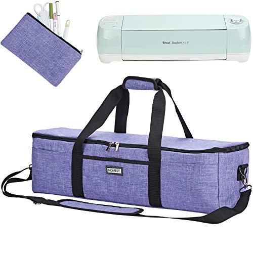 HOMEST Lightweight Carrying Case Compatible with Cricut Explore Air 2, Cricut Maker, Cricut Explore Air, Purple (Patent Design)