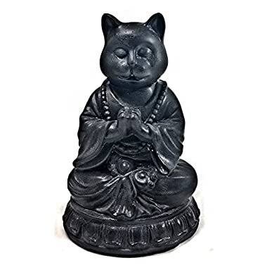 Yoga Cat, Meditating Cat, Buddha,Cat Buddhas, Meditating Animal, Zen Like Statue, Pet Memorial, Garden Statue, Pets