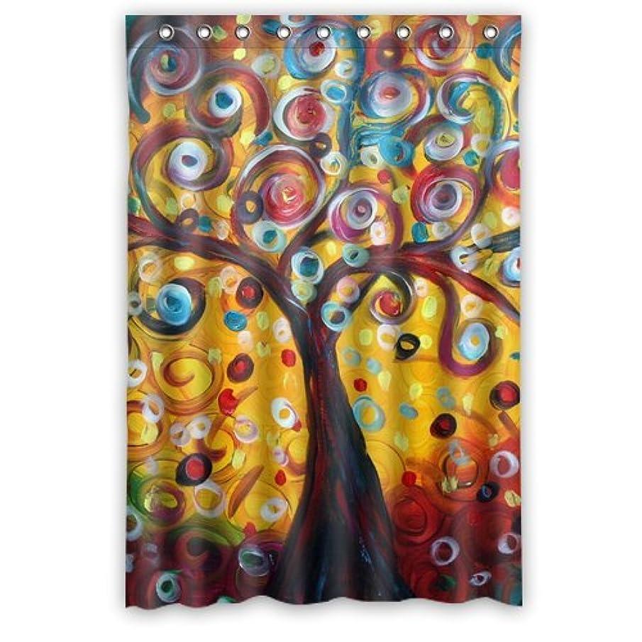 Tree Art Tree Of Life Shower Curtain 48