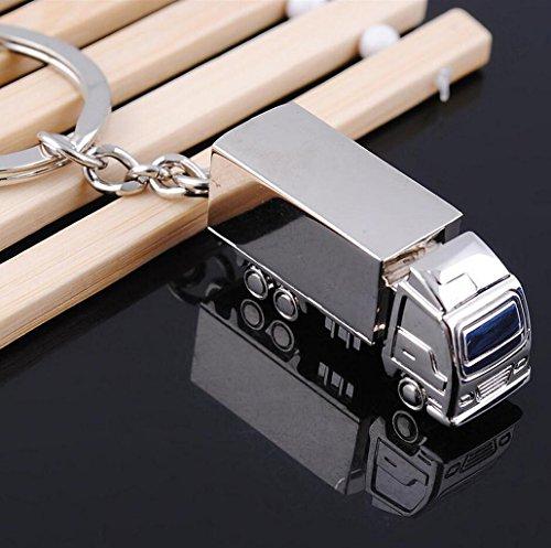 SM SunniMix Porte-clés Pendentif, Porte-clés de Voiture, Motif de Camion